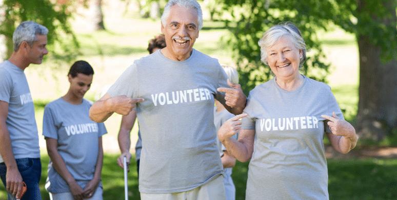 Senior volunteer opportunities are everywhere