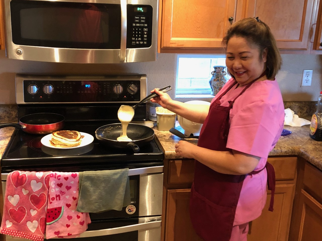 a paradise for parents- cooking