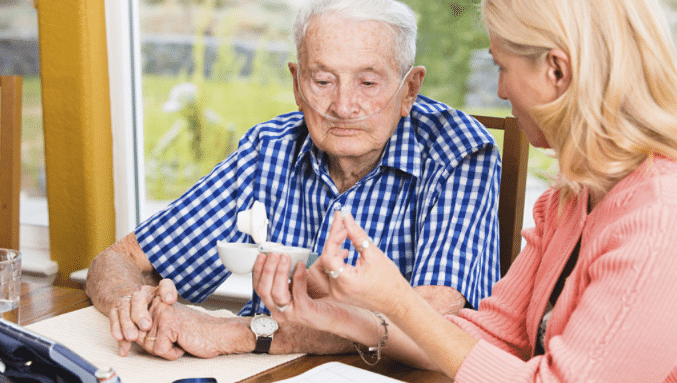 Helping the elderly with Hospice
