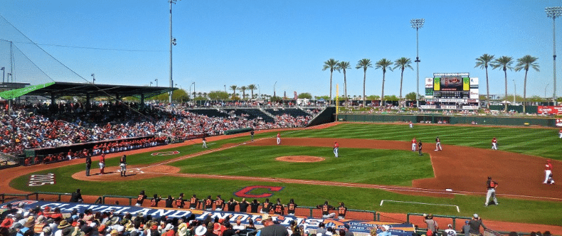 Spring Training in your backyard when you live in Goodyear