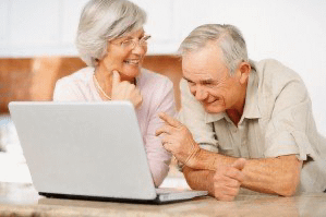 Seniors can do online grocery shopping