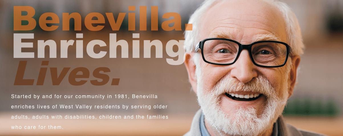 Benevilla is a wonderful program for seniors
