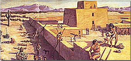 The Hohokam were the original settlers of Surprise AZ