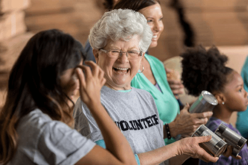 Volunteering can help you find a purpose