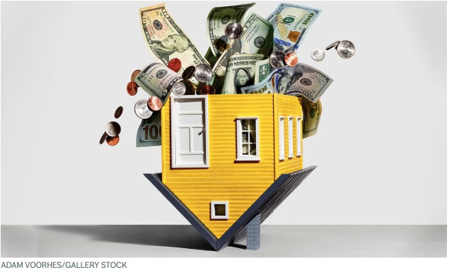 What is the downside to a reverse mortgage?