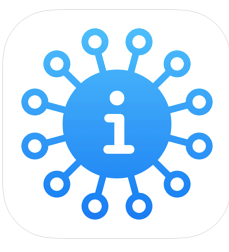 The Apple App can give the latest information on the Coronavirus Pandemic