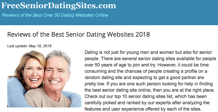 Avoid a nursing home by dating