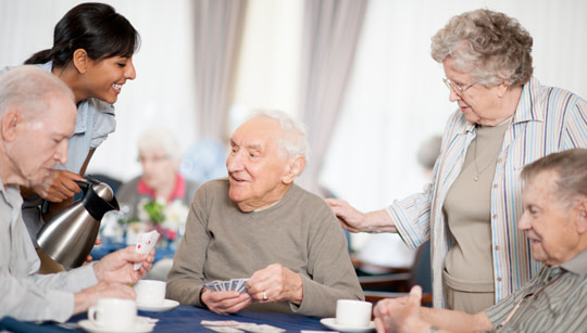 The differences between assisted living and skilled nursing include different activities