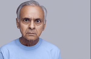 Angry Seniors can put their health at risk