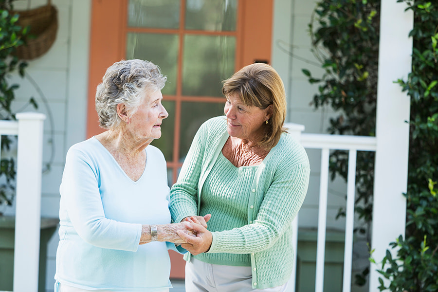 The differences between assisted living and in-home care include cost