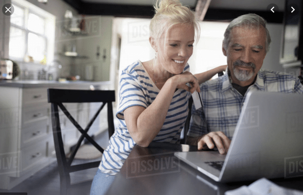 Help your senior loved one pay for things online