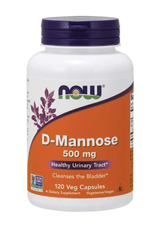 D-mannose is our way as to how to relieve UTI pain at night