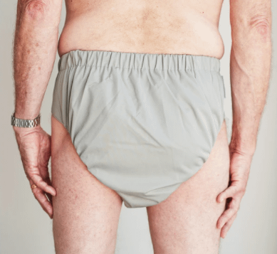 Incontinence products can look like briefs