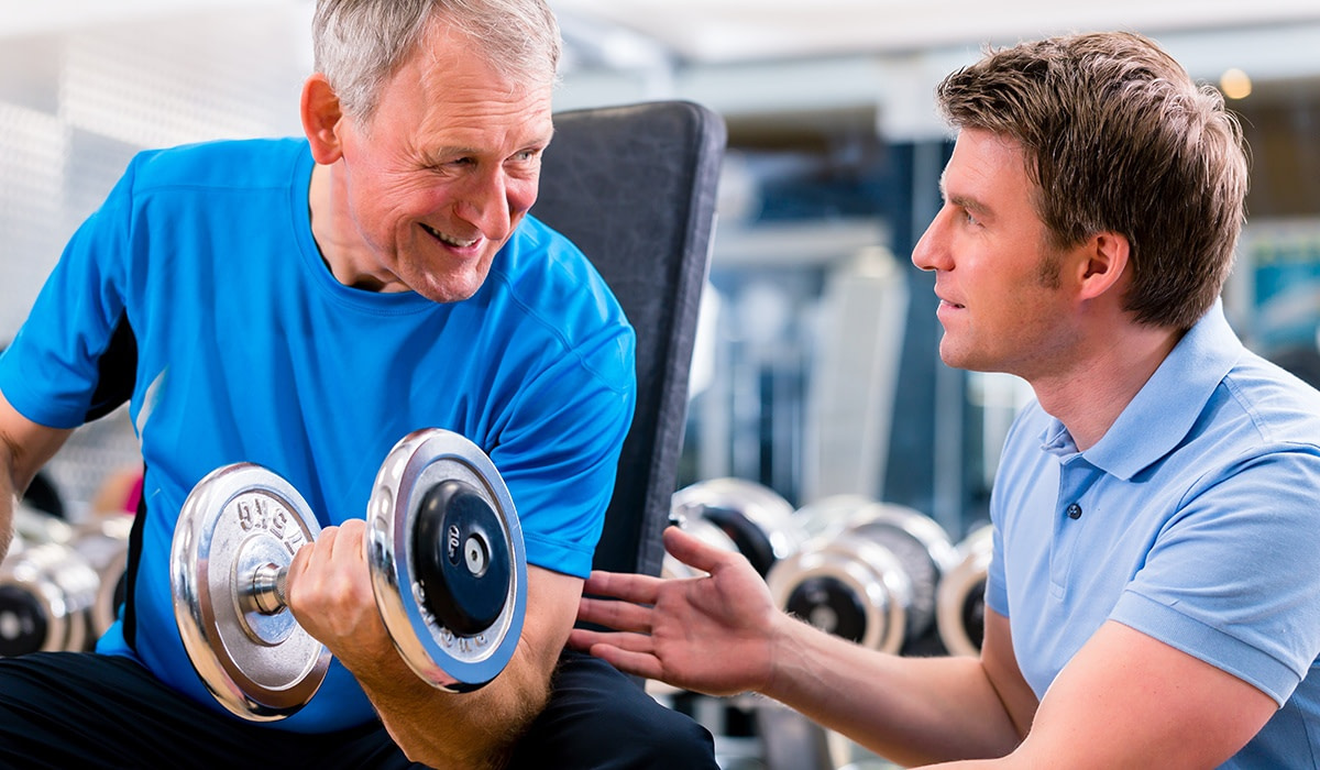 Weight training exercises for seniors can really help with aches and pains