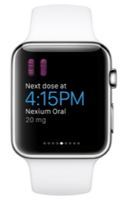 The WebMD App also works on the Apple Watch
