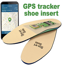 GPS shoe trackers will help people from wandering