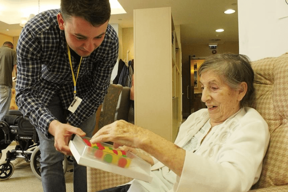Edible drops may be a great new way to hydrate dementia patients