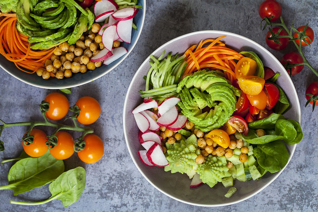 Fruits and veggies are key to a whole food plant based diet