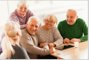 Socialize to avoid a nursing home