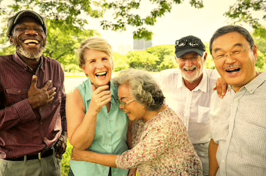 Happy Seniors can be healthier than Angry Seniors