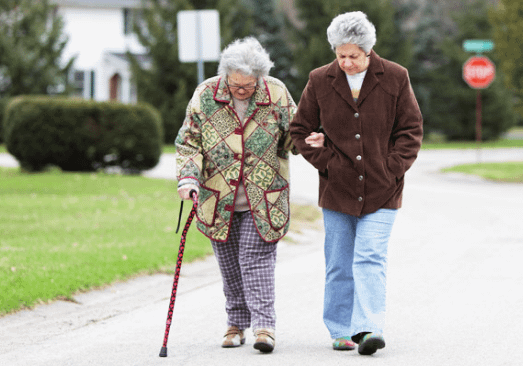 Avoid assisted living by walking