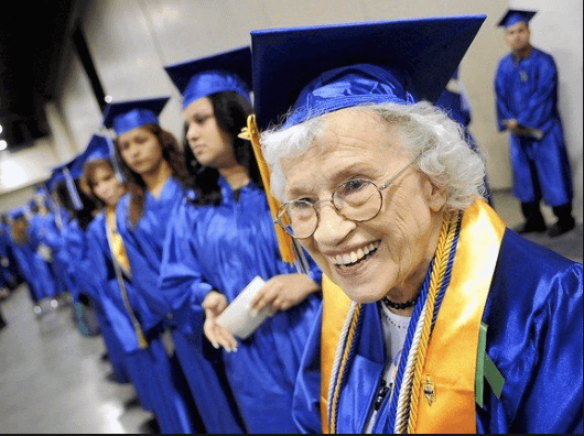 Avoid a Nursing Home by going to college