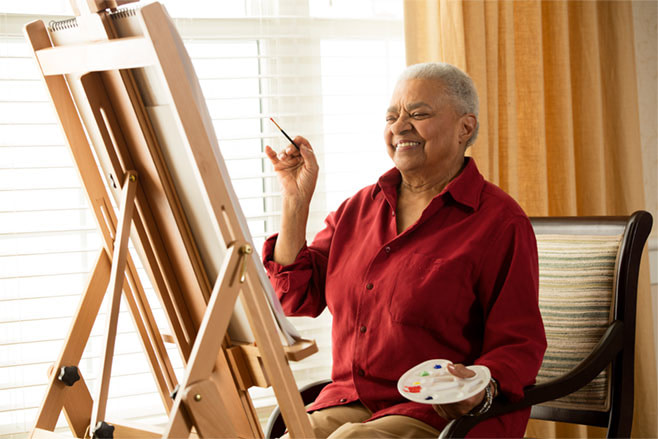 Assisted Living helps with many activities for seniors