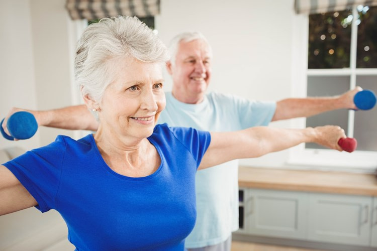 Assisted Living helps with scheduling exercise
